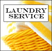 Laundry service is provided for residents of the Waterford South assisted living facility