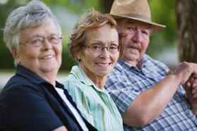 At Waterford South assisted livingm we encourage residents to enjoy the grounds.